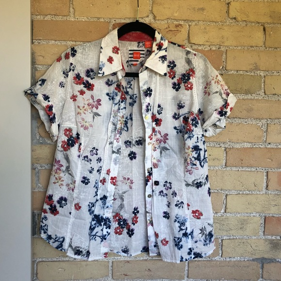 Huge Boss Floral Blouse